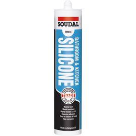 TradieCart: Soudal Bathroom & Kitchen Silicone Translucent 300ml Cartridge Silicone